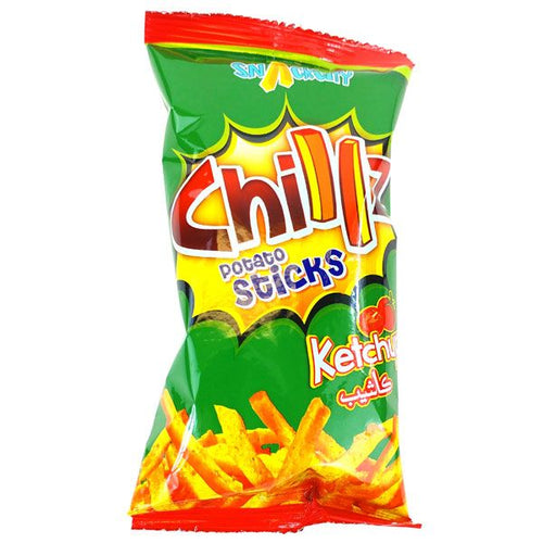 Chillz Ketchup Potato Sticks