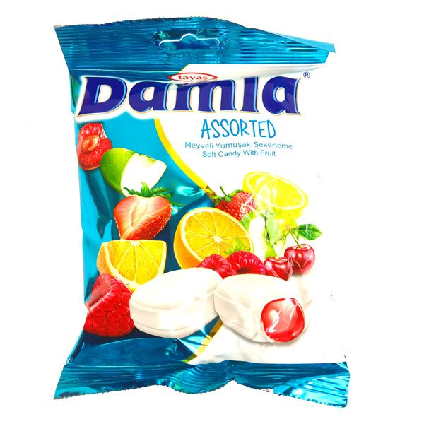Damla Assorted Candy 90g Pack
