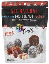 Nature's Wild Organic, All Natural, Snacking Fruit & Nut Bites, Fit Balls, Dates + Hazelnuts + Coconut, 5.1 oz (144 g)