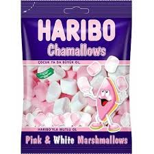 Haribo Chamallows Pink and White Marshmallows
