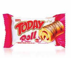 Today Roll Cake Strawberry