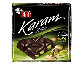 Eti Karam Dark Chocolate Pistachio
