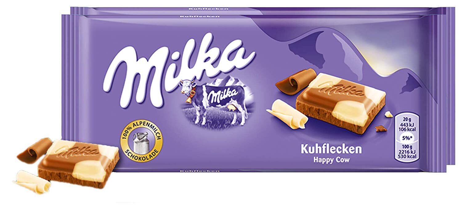 Milka Happy Cow Milk Chocolate