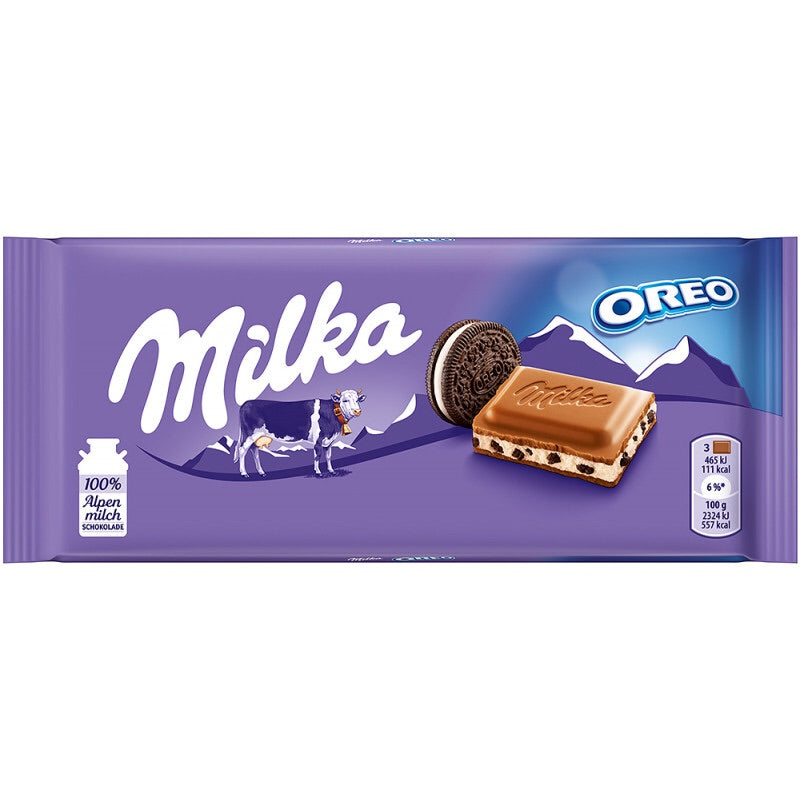 Milka Oreo Cookie Chocolate