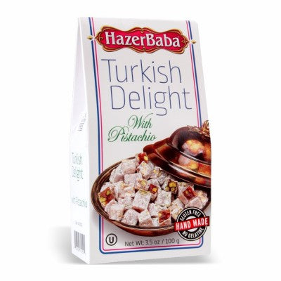 HazerBaba Turkish Delight Small - Pistachio