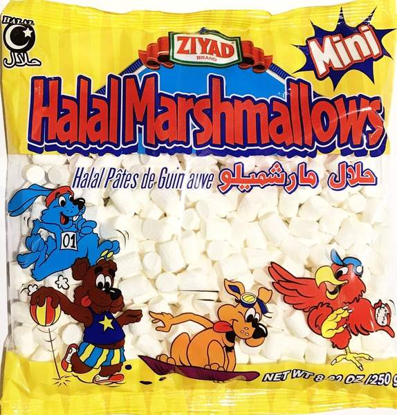 Ziyad Halal Mini Marshmallows