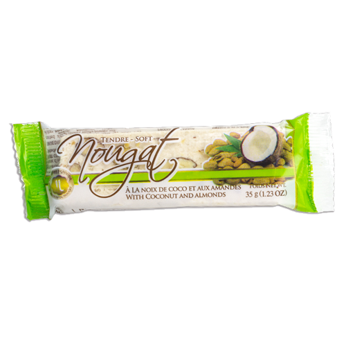 Nougat Bar - Coconut Almond