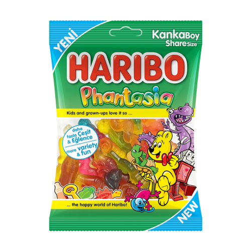 New! Haribo Phantasia (Imported from Turkey) 80g