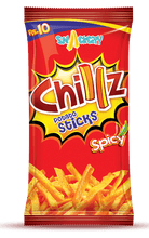 Chillz Spicy Potato Sticks