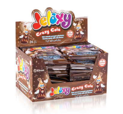 Jelaxy Crazy Cola Gummy Candy (Imported from Turkey)