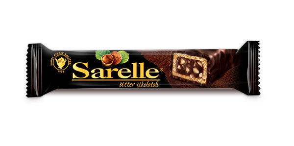 Sarelle Dark Chocolate (Bitter) Hazelnut Bar