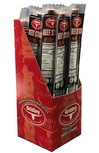 Gridley Beef Sticks - Original (16 count) Super Sale!