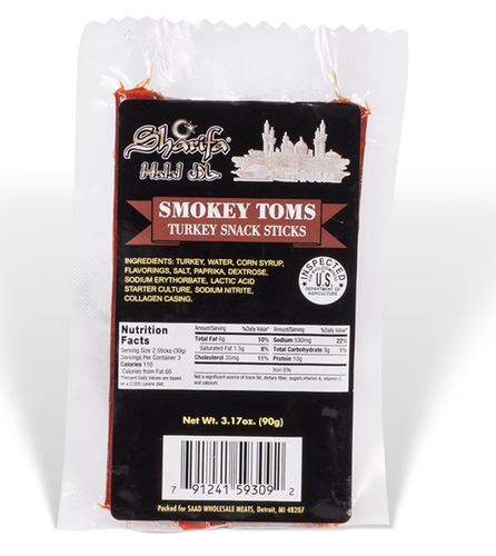 Sharifa Turkey Snack Sticks