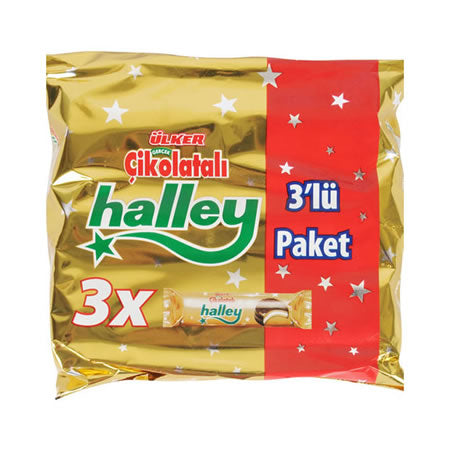 Ulker Halley Marshmallow Biscuits 3 Pack