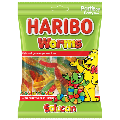 Haribo Worms (Imported from Turkey) 80g