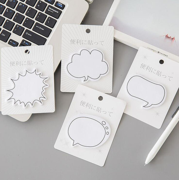 Cute Chit-Chat Box Sticky Notes