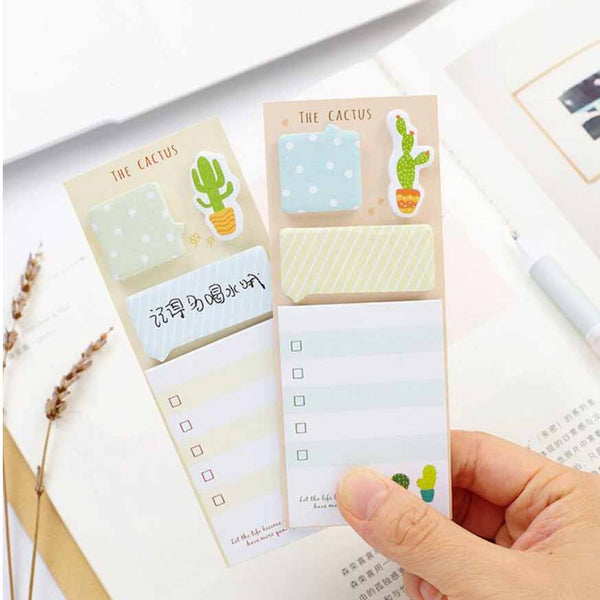 The Cactus Sticky Notes Set