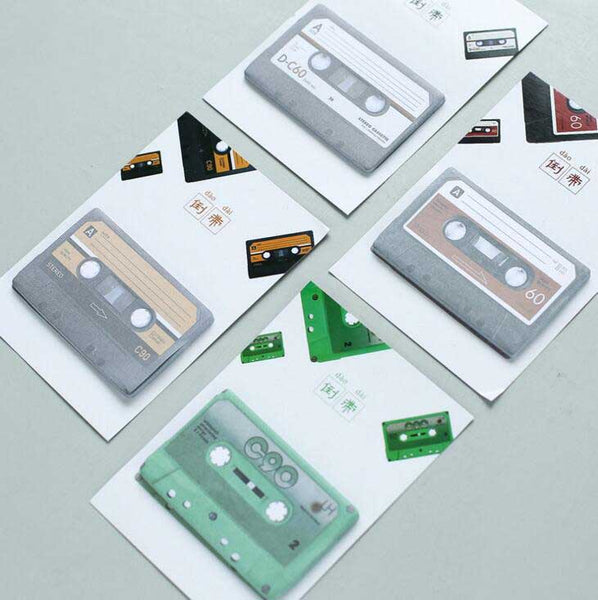 Retro Tapes Mini Sticky Notes