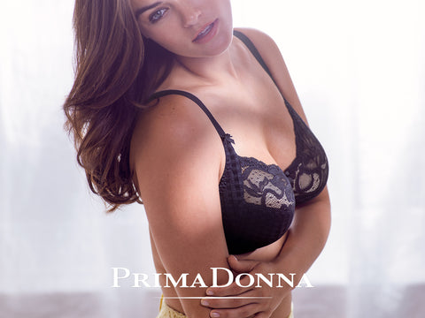 PrimaDonna | Madison Balcony Bra Black | Luxury Lingerie