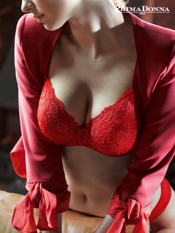 Couture Balcony Bra Red Kiss PrimaDonna