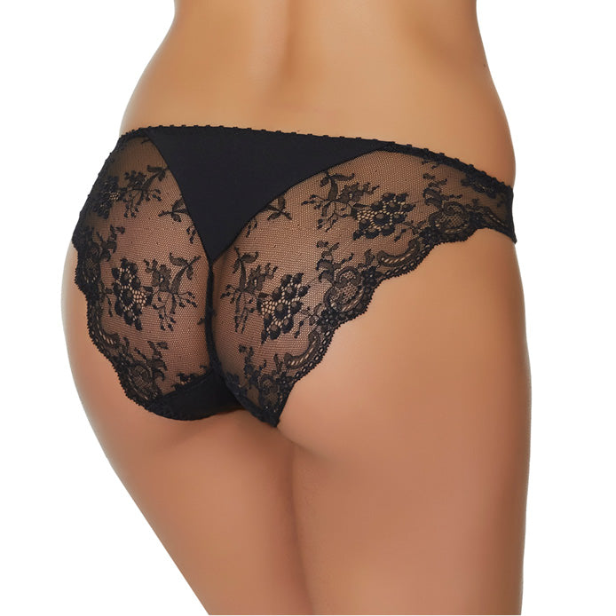 Aubade A L'Amour Italian Brief Noir Luxury Lingerie