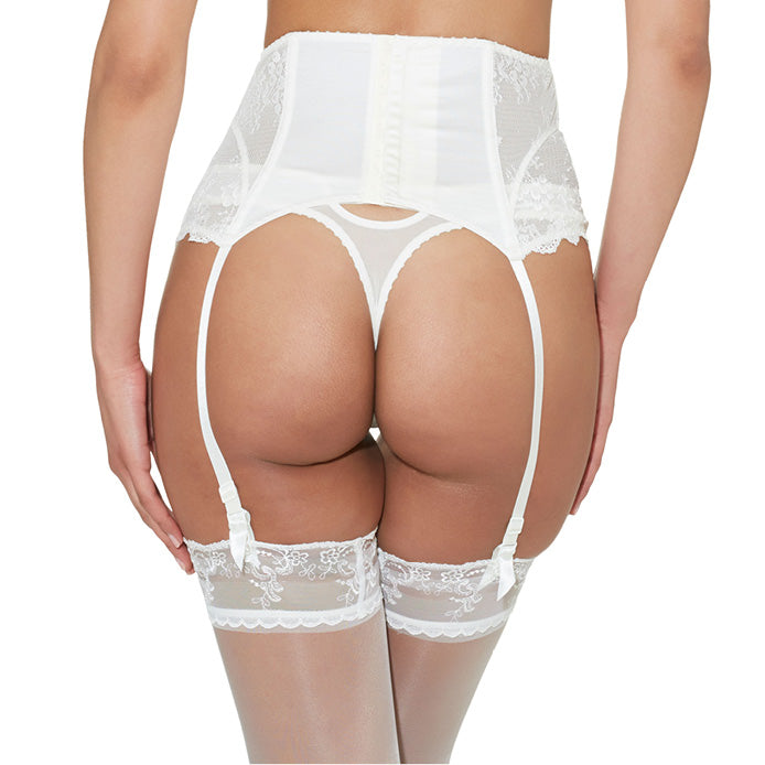 Aubade A'Lamour Stay-Up Stockings Nacre Luxury Lingerie