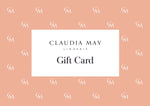 Claudia May Lingerie Gift Card