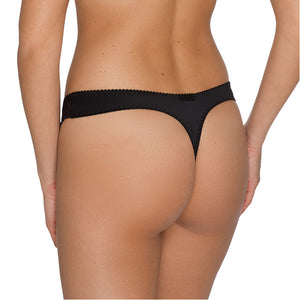PrimaDonna Madison Thong Black Luxury Lingerie