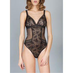 Maison Lejaby Miss Lejaby Body Black Luxury Lingerie