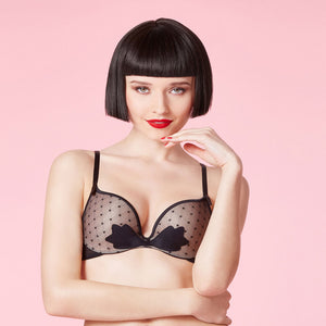 Luxury Lingerie | Noeuds Et M Violette Push Up Bra
