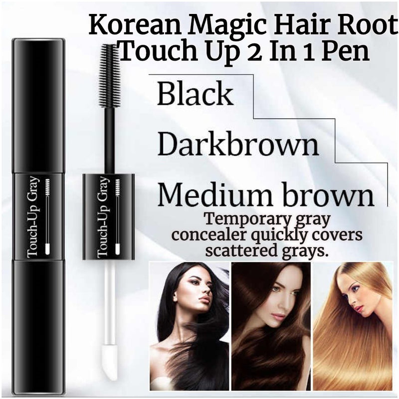 Korean Magic Hair Root Touch Up Pen For Hair & Eyebrows