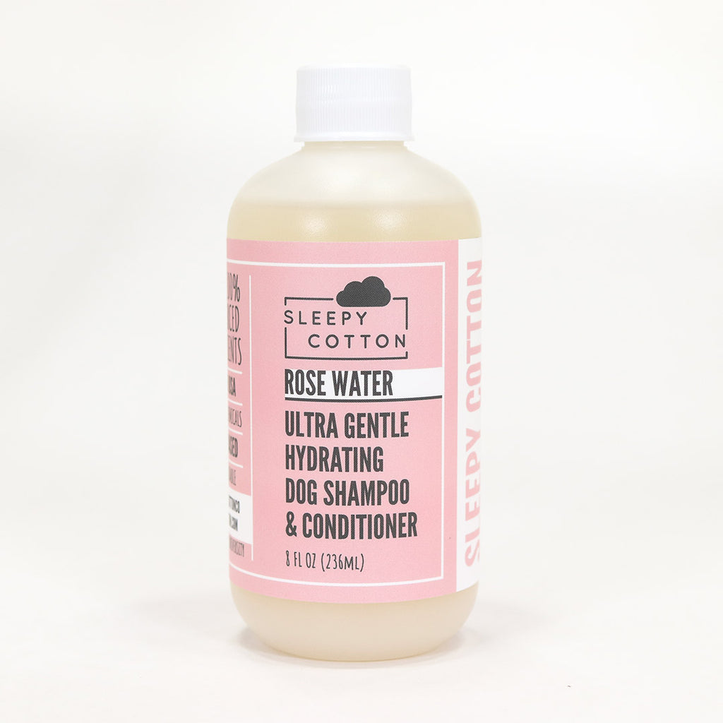 Rose Water - Ultra Gentle Hydrating Dog Shampoo