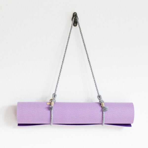 Yoga Mat Sling - Grey