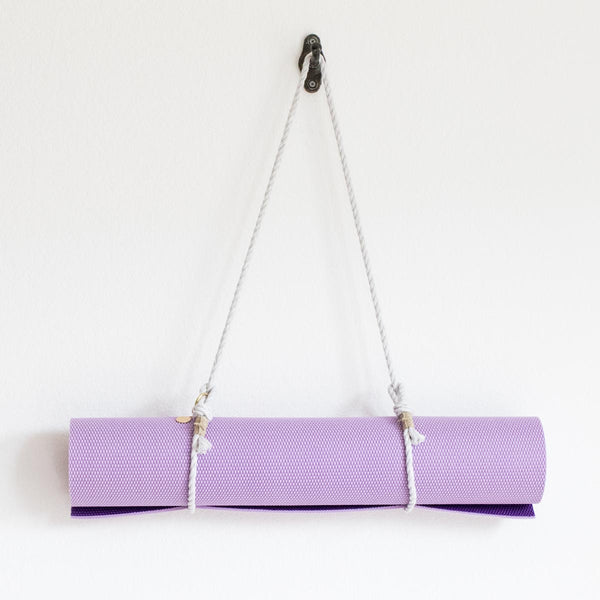 Yoga Mat Sling - Light Grey