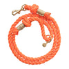 Upcycled Core Cotton Rope Dog Leash - Orange (Ambassador)