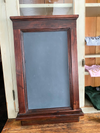 Antique Real Slate School Chalkboard