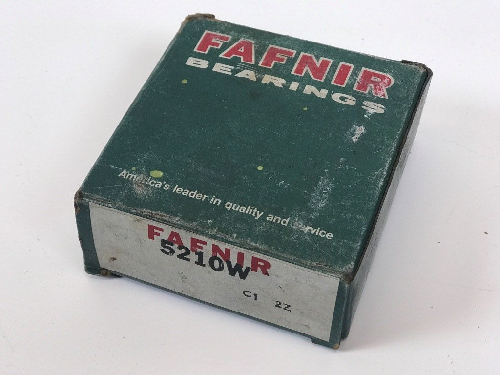 5210-W  FAFNIR Roller Bearing Original Part NOS NEW  5210W