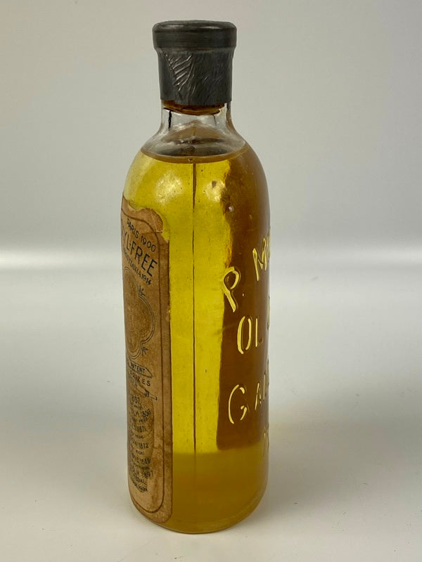 antique   P. Moller Cod Oil medicine  Bottle