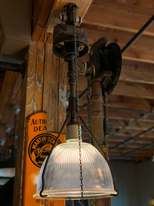 thompson cut-out holophane light fixture