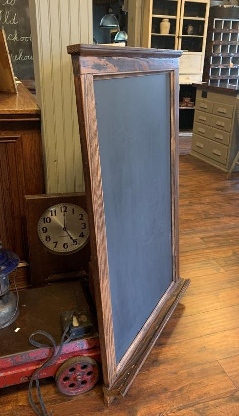 antique slate school chalkboard