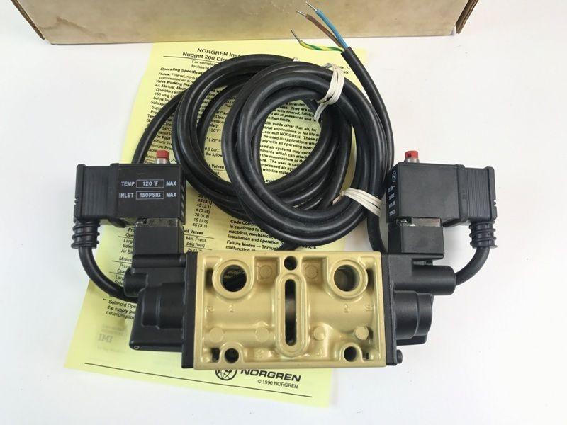 NEW NORGREN~K88EA00KV3KV3 200 Directional Control Spool Valve - Old on valve operation diagram, valve cut sheet, valve packing diagram, valve guide, valve plug, valve assembly, valve regulator, valve flow diagram, valve body, valve piston, valve valve, valve compressor, valve radio, valve adjustment, valve actuator diagram, valve system, valve solenoid, valve components diagram, valve schematic, valve timing,