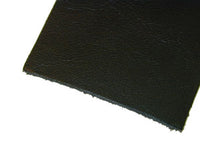 LIGHT BLACK COW LEATHER - 297 ***Sold in approximately 20 sq ft hides***