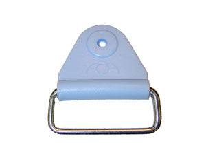 "CHAFE 1.5"" TRIANGLE SKY BLUE W/RECT SS LOOP,25/PK - 214187-18E"