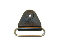 "CHAFE 2"" TRIANGLE BLACK W/ SS OVAL LOOP, 25/PK - 214190-14"