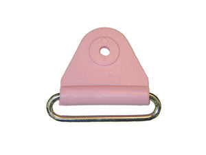"CHAFE 2"" TRIANGLE LIGHT PINK W/SS OVAL LOOP,25/PK - 214190-29"
