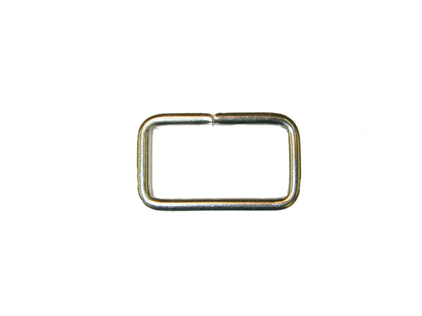 "LOOP, 1"" X .5"" RECTANGLE STAINLESS STEEL, 25/PK - 214353E"