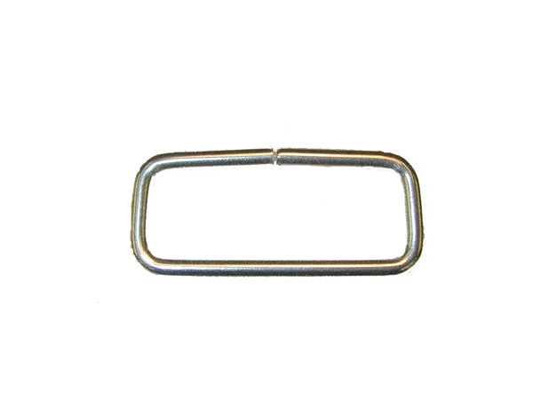 "LOOP,1.5"" X .5"" RECTANGLE STAINLESS STEEL, 25/PK - 214361E"