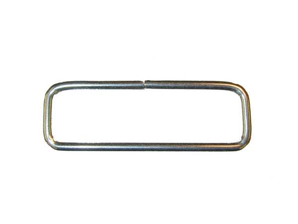 "LOOP, 2"" X .5"" RECTANGLE STAINLESS STEEL, 25/PK - 214379E"