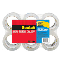 "SCOTCH HVY DTY PACKAGING TAPE 1.88""X55YDS, 6/PK - 385062"