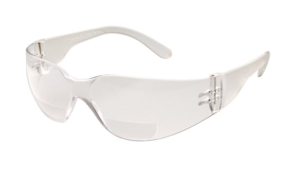 SAFETY GLASSES, STARLITE MAG AF 1.5 DIOPT BIFOCAL - 46MA15